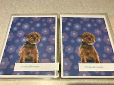YORKIE Yorkshire Terrier Dog Puppy Blank Note Cards lot of 20 Dog Lover 2 Boxes
