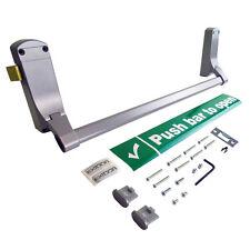 EXIDOR 296 REVERSIBLE Panic Latch Push Bar Door Opener Emergency - SILVER