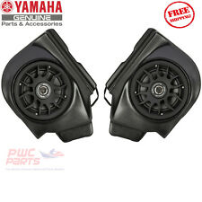 YAMAHA YXZ1000R OEM Rear Speaker Pods 2016-2017 Genuine NEW 2HC-H81D0-V0-00