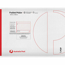 10 Padded Mailer – Large - PM5 – 483mm x 361mm ***FREE EXPRESS POSTAGE***
