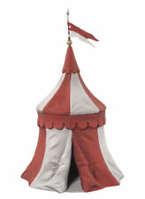 Black Hawk Tournament Medieval Knights Tent RED & WHITE 1/32 Figure BH0914RW MIB