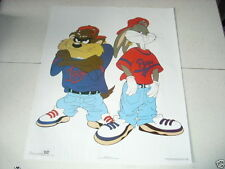 LOONEY TUNES BUGS & TAZ Baseball 16x20 Poster