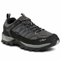 CMP RIGEL LOW TREKKING SHOES WP 3Q54457 SCARPA UOMO TORBA ANTRACITE