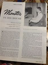 N1-7 Ephemera 1950 article dr hunter mead california psychology organ