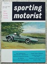 SPORTING MOTORIST Magazine July 1960 Mercedes Benz 190SL ALFA ROMEO GIULIETTA