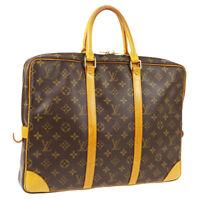 LOUIS VUITTON PORTE DOCUMENTS VOYAGE HAND BAG MONOGRAM M53361 TH1023 A51611