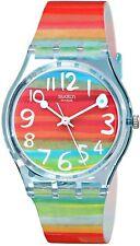 SWATCH DONNA COLORE il cielo Multicolore Dial Watch