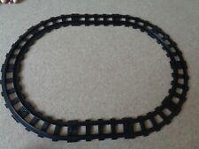 Lego Duplo Train Track Black Straight Curve pieces vintage