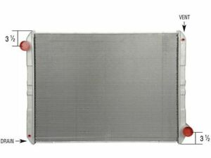 For 1992-1993 Ford F700 Radiator Spectra 47972SM