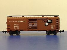 "N Scale ""Rock Island"" RI 20065 Forty Foot Freight Train Box Car"