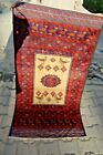Stunning Pictorial Super Fine Quality Sarpals Wall Hanging Rug,Christmas Gift