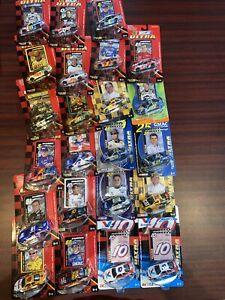 Lot Of 23 NASCAR 1/64 Racing Champions 2003-2004 NIP Johnson Labonte Martin