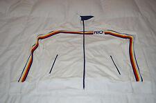 Authentic Guess White Brazil Rio De Janero Track Jacket Mens Size XXL