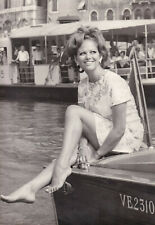 Claudia Cardinale Mostra Venise 28 Septembre 1967 Original Vintage