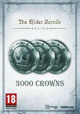 Elder Scrolls Online Crowns! 3000 crowns. PC NA/EU