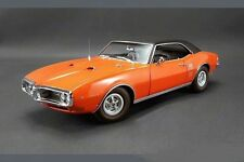 1968 PONTIAC FIREBIRD CARNIVAL RED BLACK VINYL TOP ACME CAR GMP 1:18 DIECAST GM