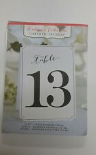 Gartner Studios Wedding Collection 13-24 Reception Table Numbers 12 Count