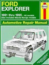Haynes, Ford Explorer, 1991-95 by Haynes Publications Staff (1995, Paperback)