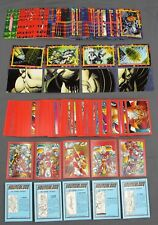 1992 Comic Images Youngblood & 1993 Skybox DC Bloodlines Trading Card Sets
