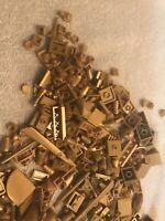 LEGO GOLD / Misc Gold Small Lego  Lot / Temple / Castle / Pirate / Treasure/etc