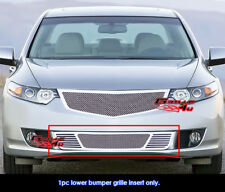 For 2009-2010 Acura TSX Bumper Stainless Steel Mesh Grille Grill Insert
