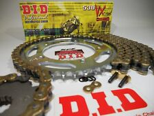 Kawasaki 2008-10 ZX10R DID 530 Gold Extended Length Chain & Sprocket Kit