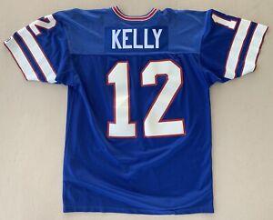 Authentic 1988 Jim Kelly Buffalo Bills Game Jersey Sz 46 XL Vintage #12 Champion