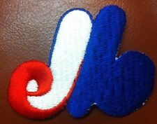 """Vintage Montreal Expos MLB Logo Patch Sew On Iron On 3""""x2.25"""" Inch"""