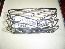 """American Metalcraft BNSU3 Copper 4-1/2"""" Birdnest Wire Basket"""