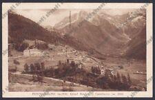 BRESCIA PONTE DI LEGNO 69 GRAND HOTEL - CASTELLACCIO Cartolina viaggiata 1939
