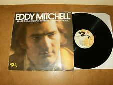 EDDY MITCHELL : BE BOP A LULA / MEMPHIS TENNESSE... LP FRANCE 1974 - BARCLAY