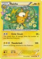 Pokemon: Raichu Radiant Collection - RC9/32 - Common - XY: Generations