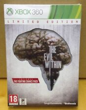 Xbox 360 Game The Evil Within Limted Edition Plus Fighting Chance, Bonus Artwork