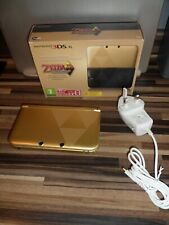 NINTENDO 3DS XL THE LEGEND OF ZELDA LINK BETWEEN WORLDS Limited edition PAL