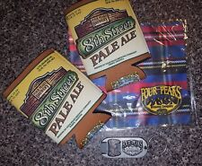 Four Peaks Brewery Swag: 2 8th St Ale Koozies, Keychain Bottle Opener, & Cloth