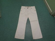 "Next Straight Jeans Size Petite 12 Leg 29"" Faded White Ladies Jeans"