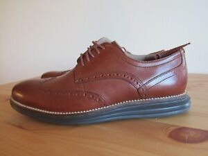 Cole Haan Original Grand Shortwing Lace Up Shoes Woodbury/Java C26472 Mens Sz 13