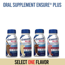 Ensure Plus Oral Supplement 350 Cal, 8 oz. (1) One Bottle (Pick your flavor)