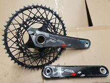 Sram Red carbon crankset 50/34t 175mm GXP 11speed KCNC cobweb chainrings