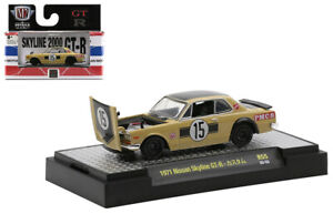 M2 MACHINES GT-R - 1971 NISSAN SKYLINE GT-R