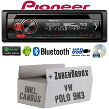 Autoradio Radio Pioneer pour VW Polo 9N3 Incl. Bus Can Interface USB Montage