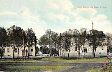 De Smet South Dakota City School Street View Antique Postcard K13364