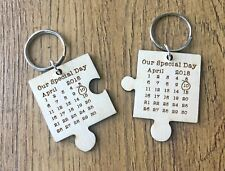 Personalised Gifts For Him Her Husband Wife Wedding Anniversary Keyring Gifts