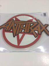 Anthrax Black 2017 Record Store Day Black Friday Vinyl Die Picture Metallica