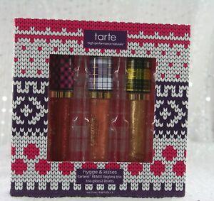 Tarte Hygge & Kisses Tarteist REMIX Lipgloss Trio 2.5ml x 3