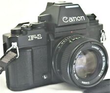 Canon New F-1 1980 L.A Olympic Model w New FD 50mm f/1.4 Lens Excellent