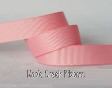 "3yd of Pink 5/8"" Grosgrain Ribbon 5/8"" x 3 yards neatly wound"