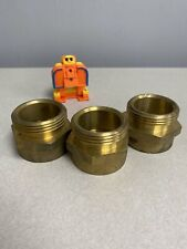 Grainger Approved 6akd2 Fire Hose Adapter Hex Brass Fitting Size 1 12 In L