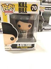 Funko POP Kill Bill #70 O-Ren Ishii Lucy Liu Vinyl Figure In Pop Protector Box