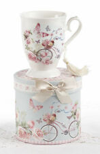 Delton Porcelain Tea or Coffee Mug Gift Set CYCLE